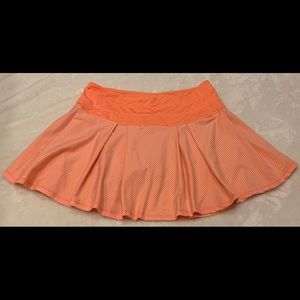 Kyodan Skort Orange White Stripe Skort large
